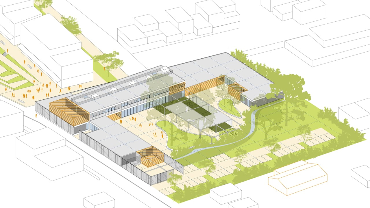 coousy_architectures_groupe_scolaire_fenouillet_axonometrie